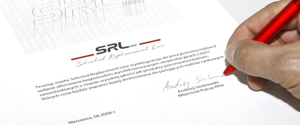 dokumet powołujący markę SRLine